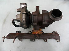 PEUGEOT 307 2.0 HDI 90BHP TURBO COMPLETE WITH MANIFOLD 9645247080 , 2000-2005