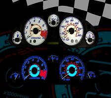 MAZDA MX5 150MPH MK2 WHITE PLASMA SPEEDO DIAL KIT LIGHTING UPGRADE