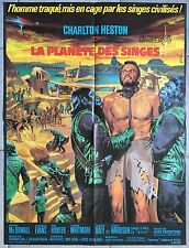 Affiche LA PLANETE DES SINGES Planet of the Apes CHARLTON HESTON Original 60x80
