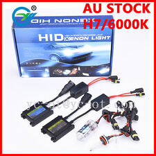 SLIM BALLAST HID CAR XENON HEADLIGHT HID Xenon Conversion Kit Lights H7 H1 6000K