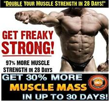 3x Muscle Bodybuilding Pills Strong Lean Muscle Mass 6 Pack Abs Ripped Mens