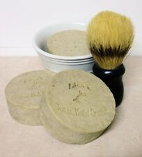 Tobacco & Bay Shaving Soap with French Green Clay