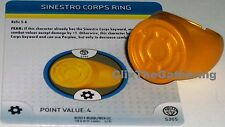 SINESTRO CORPS RING #S303/R303 War of Light DC HeroClix
