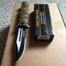TAC FORCE SPRING ASSISTED JUNGLE CAMO KNIFE Survival