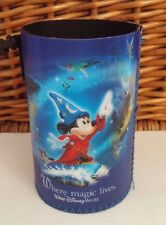 Walt Disney World Where Magic Lives Can Drink Coozie Koozie W/ Belt Clip Mickey