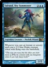 TALRAND, SKY SUMMONER M13 Magic 2013 MTG Blue Creature—Merfolk Wizard RARE Drake