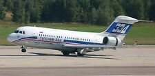 Tupolev Tu-334-200 Russian Airliner Wood Model Replica Small Free Shipping
