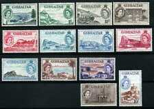 Gibraltar 1953 definitives to 10s, SG 147-157 unmounted mint