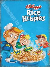 Vintage Food, 87, Rice Krispies Cereal, Cafe Kitchen Shop, Novelty Fridge Magnet