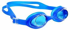 ANTI FOG SILICONE SWIMMING GOGGLE+ Ear Plugs+Soft Carry Case (For All Ages)