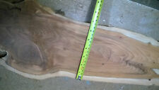 English Yew Waney Edge Board ( Shelf, bar, top etc )