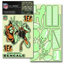 Cincinnati Bengals Lil Buddy Glow in the Dark Decal Kit [NEW] Sticker Emblem
