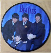 "EX! THE BEATLES A HARD DAY'S NIGHT 20TH ANNIVERSARY 7"" Vinyl Picture Pic Disc"