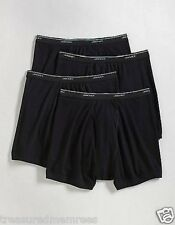 4 PACK Jockey Classic Boxer Briefs ~ Style 9740 ~ Size LRG (36-38) ~ Black ~ NWT