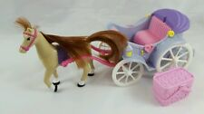 Fisher Price Loving Family Sweet Streets Horse & Carriage with Picnic Basket