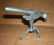 "1/18 Scale Machine Gun Post For 3.75"" Action Figure - Large Firearm War Weapon"