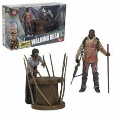 The Walking Dead TV Morgan with Impaled Walker Deluxe figure set. In Stock!