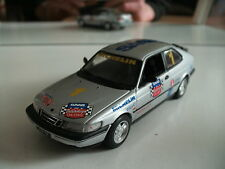"Minichamps Saab 900 1995 ""Saab 900 Talladega Challange"" in Grey on 1:43"