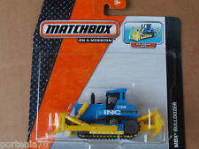 2014 Matchbox Real Working Rigs BULLDOZER Blue