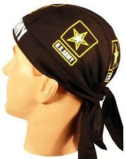 UNITED STATES ARMY SKULL CAP ** MADE IN THE USA ** BUILT IN SWEAT BAND