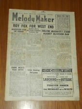 MELODY MAKER 1946 #675 JUN 29 JAZZ SWING ROY FOX FRANK WEIR TABOR JIMMY MESENE