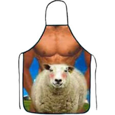 Cooking Home BBQ Sheep printed Apron  Novelty Funny Sexy men women Dinner Party