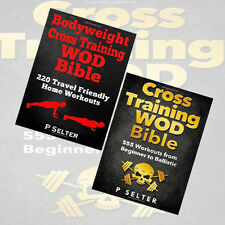 P Selter Collection 2 Book Set Pack BrandNew,Bodyweight Cross Training WOD Bible