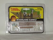 WOODLAND SCENICS SCENIC ACCENTS PAINTERS #A1890 HO SCALE