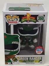 Mighty Morphin Metallic Green Power Ranger NYCC 2016 Exclusive Funko POP Vinyl