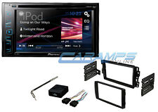 """PIONEER 6.2"""" TOUCHSCREEN DOUBLE 2 DIN CAR STEREO W/ COMPLETE DASH KIT & HARNESS"""