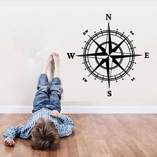 Removable Art Vinyl Compass DIY Wall Sticker Decal Mural Home Room Decor