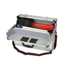 "18"" x 12 1/2"" x 8"" Aluminum 2 Sided Tool Case With Changeable Combination Lock"