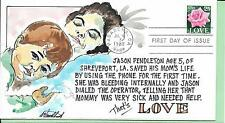 WILD HORSE HP MOTHER & SON   Sc 2378 LOVE STAMP (VERY EARLY WILD HORSE COVER)
