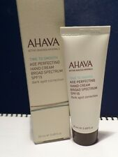 Ahava Age Perfecting Hand Cream Broad SPF15 Reduces the appearance of Dark Spots