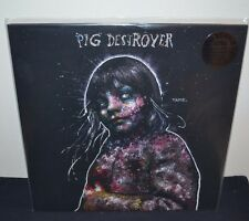 PIG DESTROYER - Painter of Dead Girls DLX LP BLACK VINYL Gatefold Printed Sleeve