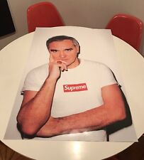 Supreme Morrissey Poster NEW Actual Ad Campaign NYC SS16 Box Logo Moz Shirt