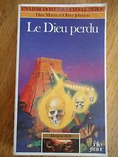 LDVELH DRAGON D'OR * LE DIEU PERDU * 317 LIVRE HEROS FOLIO JUNIOR