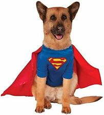 Rubies Superman Costume DC Heroes and Villains Collection Pet Dog X-Large XL