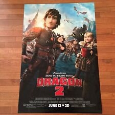 """HOW TO TAME YOUR DRAGON 2 Original 27""""x40"""" One-Sheet Movie Poster DS Rolled 2014"""