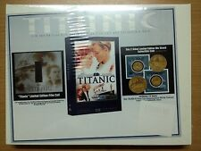 Titanic (DVD) Limited Gift Set with Film Cell and Collectible Coin - Zone 1 US