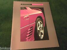 """1993 MITSUBISHI 3000GT 16 Pg SALES BROCHURE ORIGINAL MINT 9.5"""" X 12"""" (BOX 313)"""