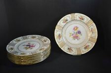 Royal Doulton Porcelain Dinner Plates with Flowers