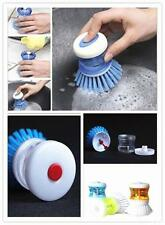 New Kitchen Wash Tool Pot Pan Dish Bowl Palm Brush Scrubber Cleaning Cleaner