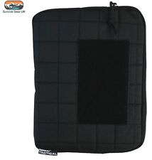 "Kombat Tattico 10 ""Tablet / iPad MOLLE Custodia nera militare di sicurezza"