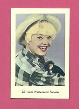 Laila Westersund Vintage Movie Film Star Card from Sweden #26