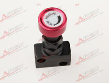 Adjustable Knob Screw Type Brake Proportioning Valve Bias Valve Red/Black