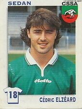 N°324 CEDRIC ELZEARD CS.SEDAN VIGNETTE PANINI FOOTBALL STICKER 2000