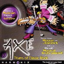 The Axe: Titans of Classic Rock PC CD favorite classic rock songs music sim game