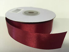 Quality Cut 1m Lengths 25mm Double Sided Satin Ribbon **@SPECIAL OFFERS@**