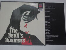 THE DEVIL'S BUSINESS - LP  Soundtrack  OST + POSTER